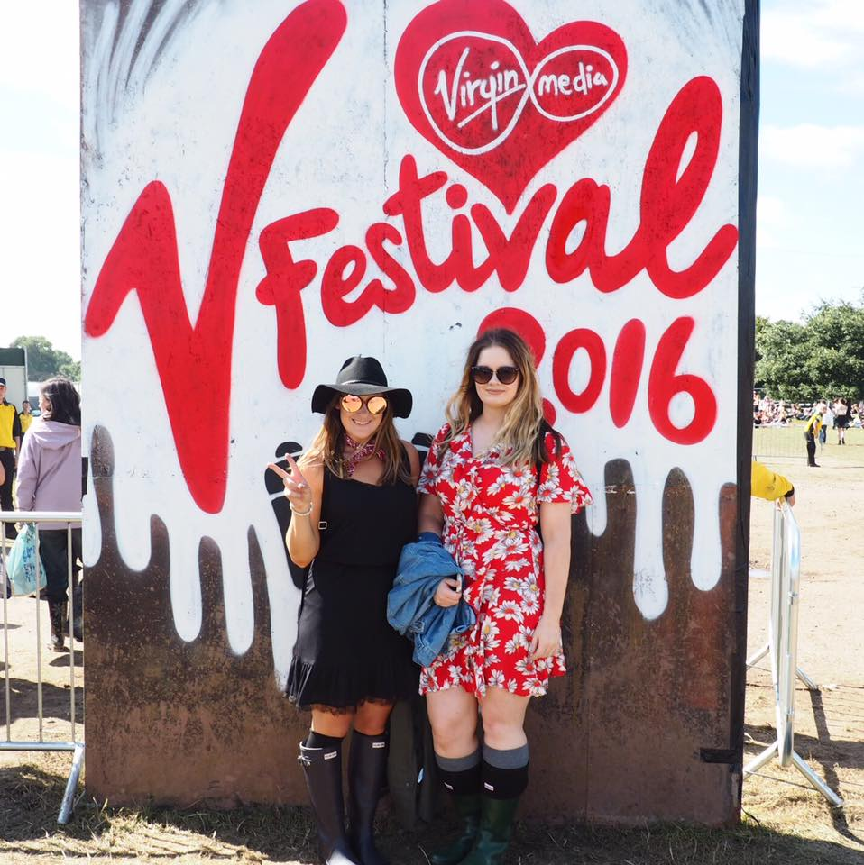 what i wore to v festival