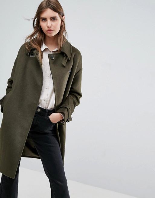 khaki coats