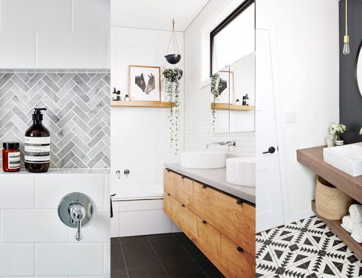 how to get a pinterest worthy bathroom