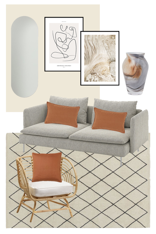 tonal living room