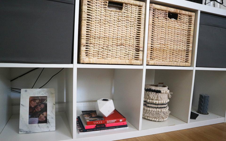 how i style the ikea kallax zoe olivia blog. Black Bedroom Furniture Sets. Home Design Ideas