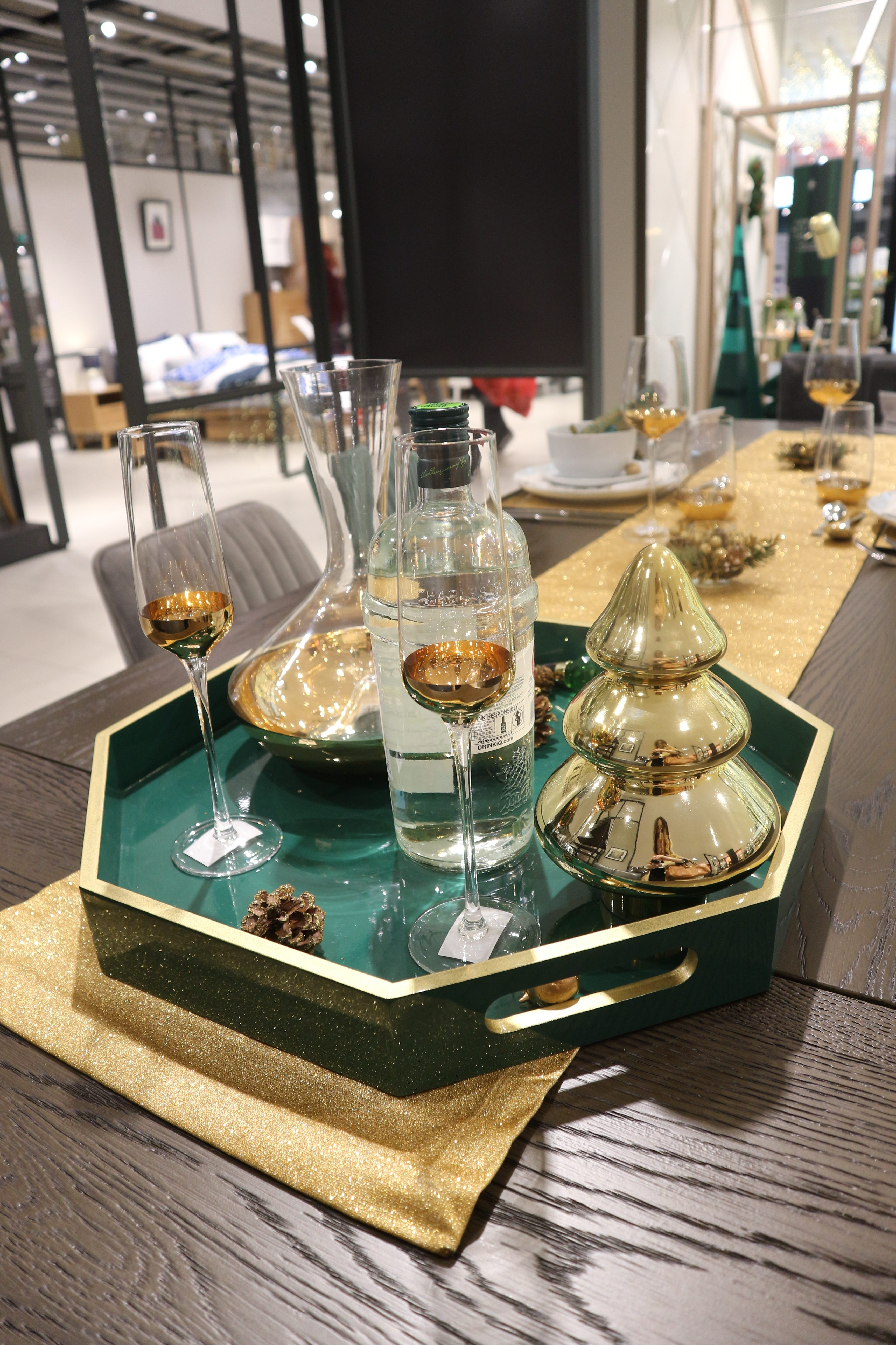 Christmas at John Lewis & Partners - The Emerald Collection